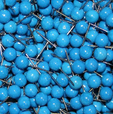 Pins Needles Marking pins 0.60 x1, 7 cm 50 Pcs blue