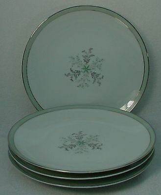 """NORITAKE china LUCILLE 5813 pattern Bread Butter Plate -Set of Four (4) @ 6-3/8"""""""