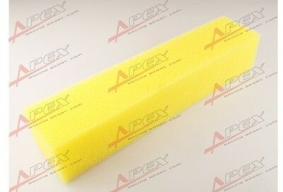 """Racing Fuel Cell Foam 18"""" x 4"""" x 3.5"""" For Gas Gasoline E85 Alcohol Safety"""