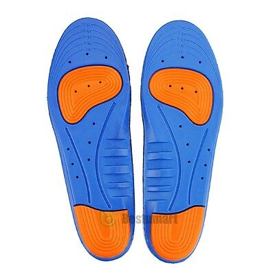 Men Women Gel Orthotic Sport Insoles Insert Shoe Pad Arch Support Heel Cushion