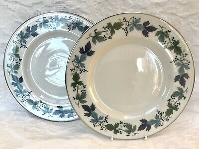 """Royal Doulton Burgundy TC1001 Dessert Plate 8"""" Several Available Excellent Cond"""