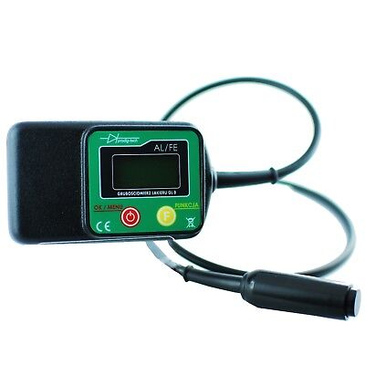 Wired Probe Digital Car Paint Layer Thickness Meter Gauge Coating Tester