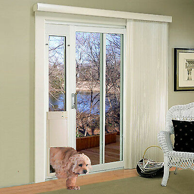 Power Pet Md Automatic LowE Sldng Gls Pet Door-FACTORY DIRECT From HIGH TECH PET