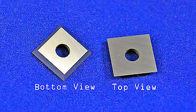 """Square 12mm (.472"""") SQ12 Carbide Insert Cutter for Wood"""
