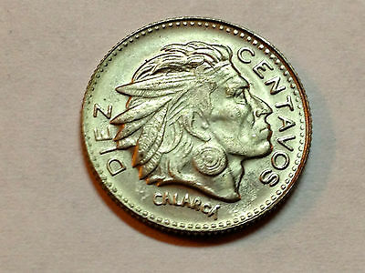 1959 Colombia 10 Centavos Gem Uncirculated Coin