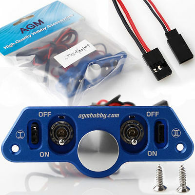 AGM Heavy Duty J-003 Dual ON-OFF Switch w/ Fuel Dot for RC Aircraft Plane in UK