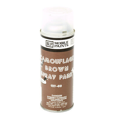 WWII Military type BLP Camouflage Spray Paint- Flat Mud Brown