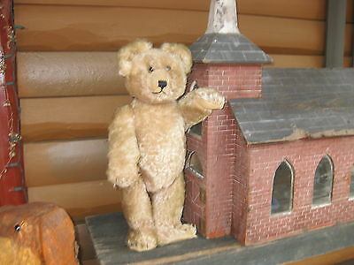 """VINTAGE Schuco YES/NO Bear with a WORKING GROWLER ABOUT 22"""" TALL"""