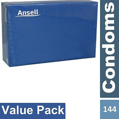 Ansell Lifestyles Regular Condom Easy Fit Bulk Buy 144 Condoms Box