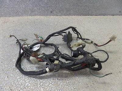 83 honda gl1100a goldwing main wiring harness loom