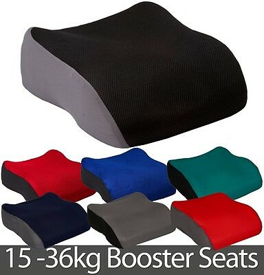 Small Booster Safety Car Seat Polystyrene 3-12yrs Child Van Minibus Boy Girl