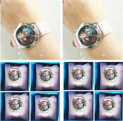 Disney Princess Frozen Elsa/Anna Quartz Fashion Child Girl Wrist Watch Xmas GIFT