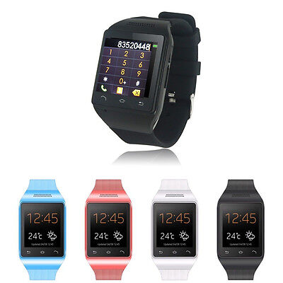 "S18 Unlocked 1.54"" Inch Smart Wrist Watch Phone GSM Quad Band touch screen NEW"