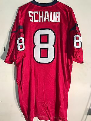 Nice REEBOK AUTHENTIC NFL Jersey Houston Texans Matt Schaub Red sz 52  for sale
