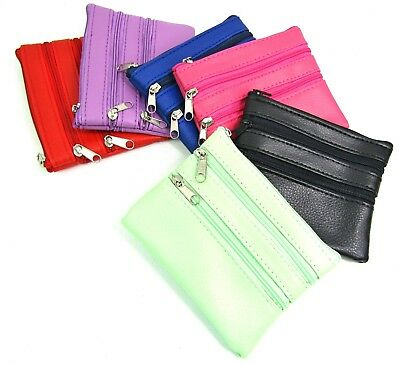 Ladies Small Purse Change Pouch Credit Card Holder & Key Ring Wallet