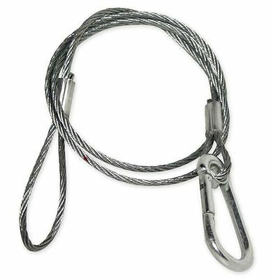 """Chauvet CH-05 31"""" Inch Safety Clamp Lighting Cable Wire For Up To 700 LBS CH05"""