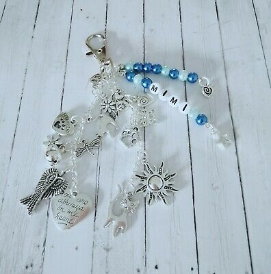 Pet Loss/In Memory memorial loss of cat, key/bag charm, personalised free