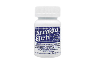 Armour Etch® Glass Etching Cream 90ml (85g)  -