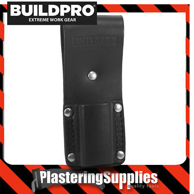 BuildPro Level Pouch Leather Heavy Duty Stitching Frog LBFMSL Fits Stabila