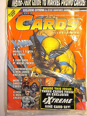 CARDS ILLUSTRATED #3 - Non-Sports Trading Cards (Wolverine Cover/4 Promo Cards)