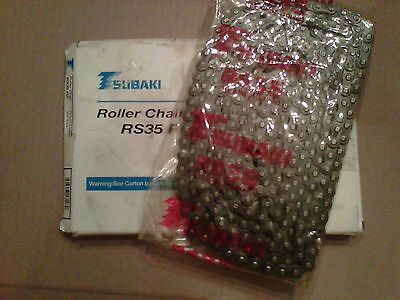 Tsubaki Roller Chain RS35 RP 10 ft 320 links 3.048m new