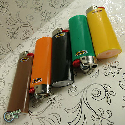 5 Genuine BIC Big Large Maxi Cigarette Cigar Tobacco Lighter J26 Made in France