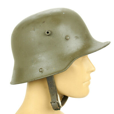 Original Imperial German WWI M16 Stahlhelm Helmet with Markings- Shell Size 66