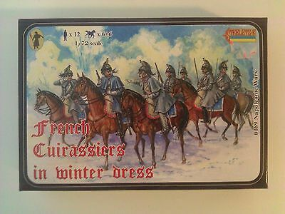 Strelets-R 1/72 Napoleonic Wars French Cuirassiers in Winter Dress # 0089
