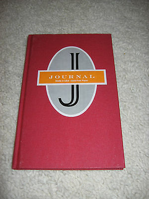 JOURNAL-New & Unused-Made in USA-Acid Free Paper-Blank lined pages