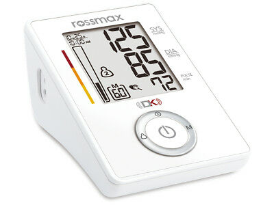 Rossmax Automatic Upper Arm Blood Pressure Monitor Dual Technology Top Accuracy