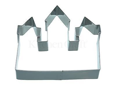 Kitchencraft Fairy Princess Castle Shape Metal Biscuit/Cookie Cutter Home Baking