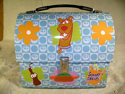SCOOBY DOO Collectible Metal Lunchbox   Brand New   Dated 2000   NOS