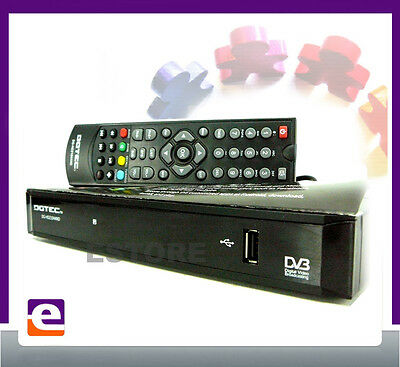 HD DIGITAL TV SET TOP BOX with USB PVR MEDIA PLAYER & INTERNET BROWSING HDMI