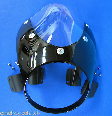 New Raven Black Bullet Cowl Mini Fairing XVS950 Star Bolt by Yamaha B0048
