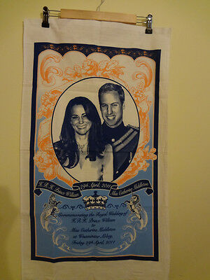 Prince William And Princess Kate Royal Wedding Announcement Banner 18 x 31