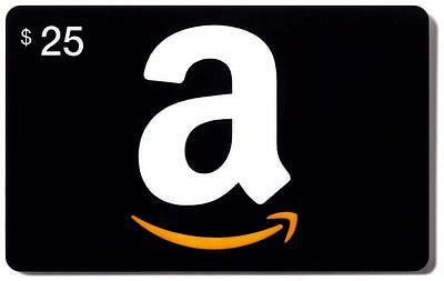 $25 Amazon Gift Card - Free Expedited Delivery - Read Before Buying