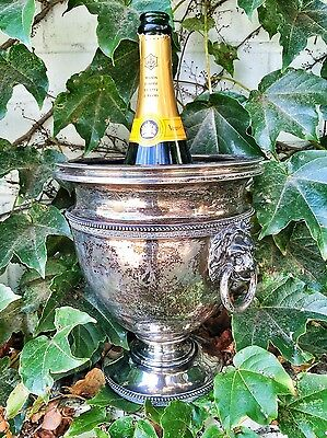 Rare 20th century Solid Sterling Silver Tiffany & Co Champagne Cooler T&Co