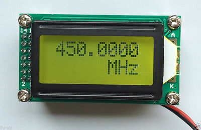 1 MHz ~ 1.1 GHz Frequency Counter Tester meter Measurement Digital For Ham Radio