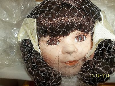 Heritage Signature Collection porcelain doll April Showers collectible doll COA