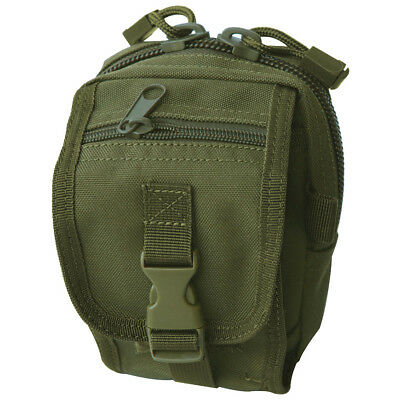 Condor Tactical Gadget Utility Pouch Molle Case Device Holder Webbing Olive Drab