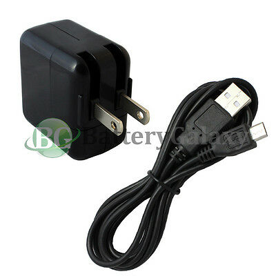 6FT USB Micro Data Cable+Wall AC Charger for Amazon Kindle Fire HD HDX 7.0 8.9