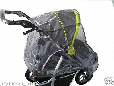 Mamakiddies 3 Wheel Stroller Rain And Foot Cover Only