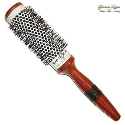 Head Jog 57 Hair Brush Ceramic Radial Professional Quality Hairdressing In Salon
