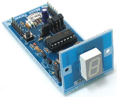 DIGITAL UP / DOWN COUNTER  1  DIGIT ( with preset point counter) [ MXA009 ]
