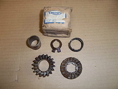 Original Triumph T120 T140 Kickstart Ratchet & Pinion Kit 57-0730 57-0731 Nos