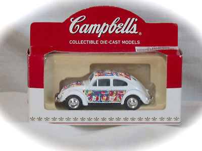 1952 VW BEETLE CAMPBELL'S SOUP COLLECTIBLE by LLEDO-1952 VOLKSWAGON - NEW IN BOX