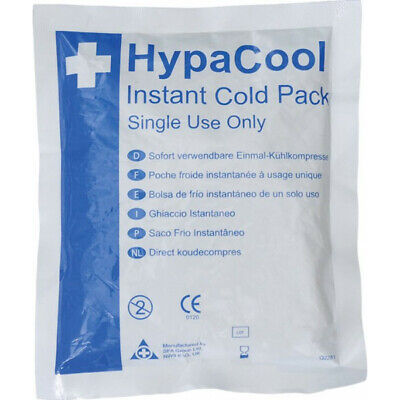 SAFETY FIRST AID HypaCool Instant Cold Pack - Compact - Pack of 24 - Q2281PK24