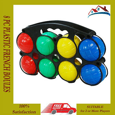 Children Garden French Boules Bowls Pentanque Game Outdoor Beach Party Toys New