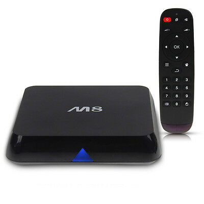 M8 Amlogic s802 Quad-Core Smart TV Box Android 4.4 4K UHD 2Go+8Go Bluetooth XBMC
