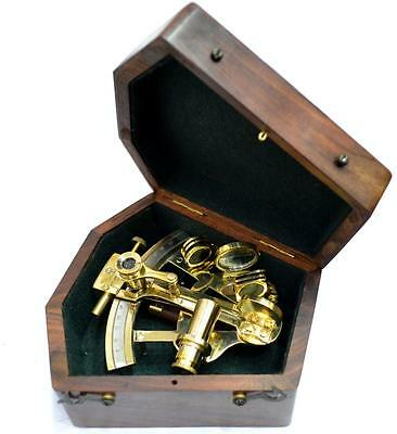 Sextant Vintage Octant Replica Maritime Gift Sextant Decor Astrolabe Navigate